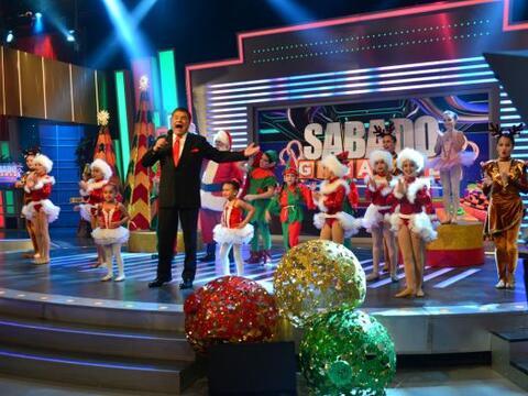 La Navidad llegó a Sábado Gigante y con ella muchas sorpre...