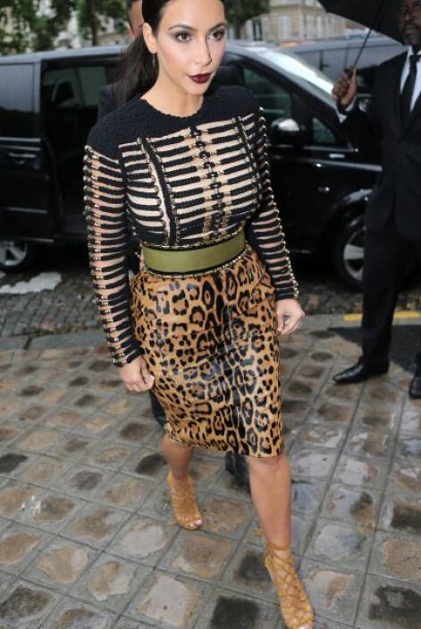 Kim es amante del buen gusto y de la moda.Mira aquí los videos más chism...
