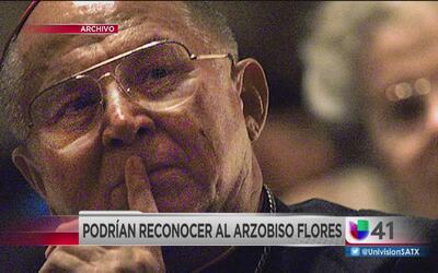 Proponen ponerle nombre del arzobispo Flores a una calle de la ciudad