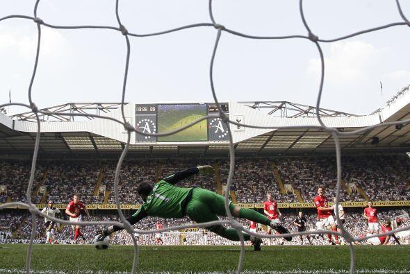 Se adelantó el Bromwich, pero remontaron los 'Spurs'. Este gol de Pavlyu...