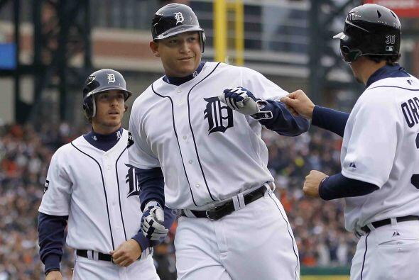 Primera base: Miguel Cabrera entra por segunda vez (las únicas do...