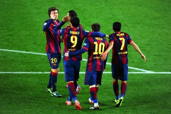 El Barça llegó a 74 puntos y no hay quien le dé alcance en la parte más...
