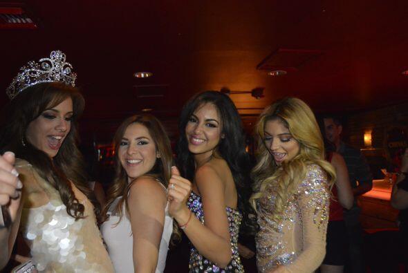 A pesar de que una sola se llevó la corona, las chicas estuvieron conten...