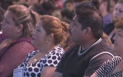 Con una gran respuesta de los hispanos, se llevó a cabo el segundo foro...