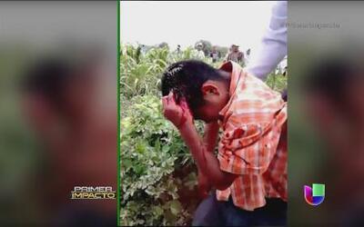Menores de edad heridos por policías mexicanos