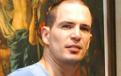 Víctima de la delincuencia: Julio Camejo resultó con una herida en el cu...