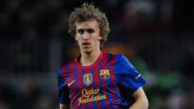 Muniesa se formó en la cantera del Barcelona, pero ante la falta de opor...