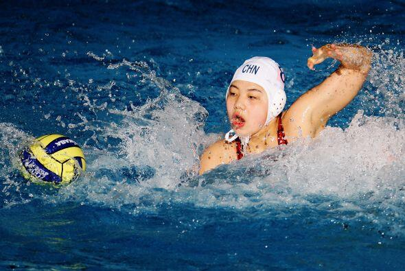 Ao Gao, deportista que representa a China en waterpolo, generó un...