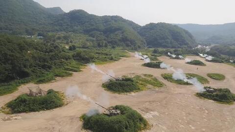 Corea del Sur y Estados Unidos realizan prácticas militares conjuntas