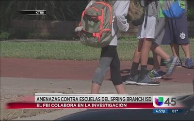 Cierran escuelas en Spring Branch por amenazas