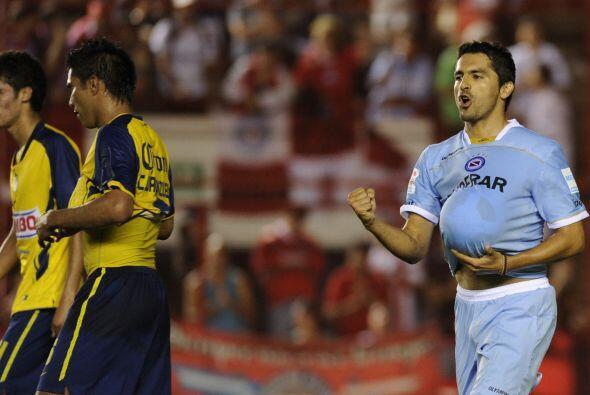 'Sa-Sa', como le dicen en Argentina, fue el goleador del partido ante el...