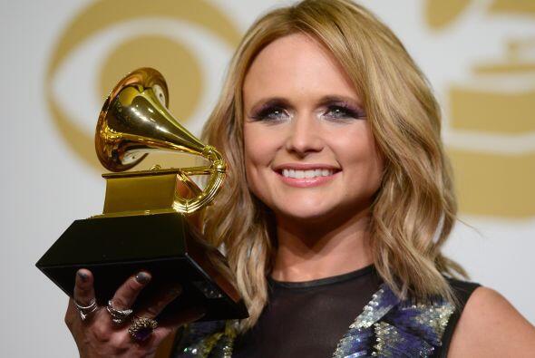 Miranda Lambert ganó como Mejor Álbum de Country.