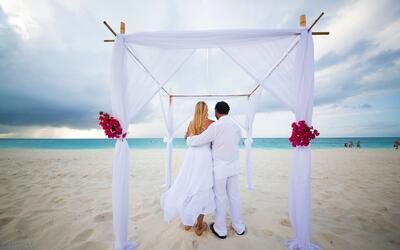 Una boda no fue suficiente para ellos