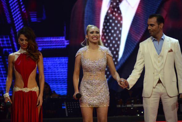 Gali anunció que la salvada por el público fue justamente Paloma.
