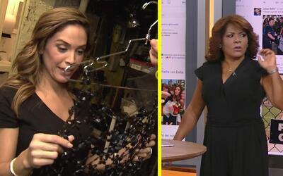 #DAEnUnMinuto: Karla Martínez en encajes transparentes y Divina quiere h...