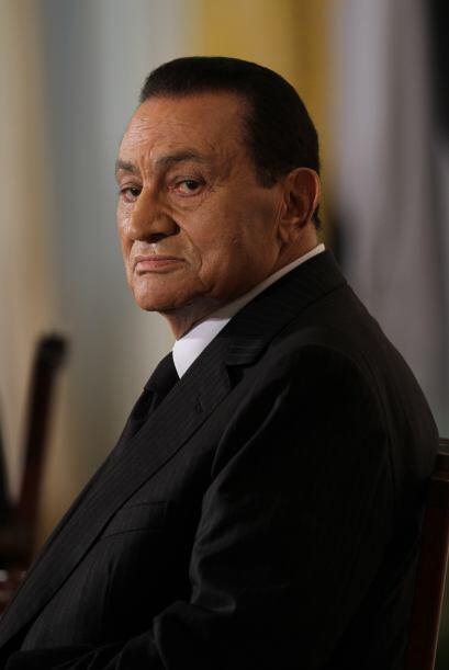 2 de junio. Hosni Mubarak, ex presidente de Egipto durante tres décadas,...