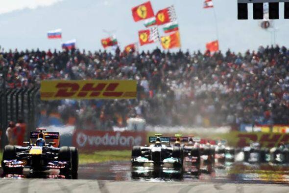 El piloto alemán de la Red Bull demostró una vez más que es el mejor del...