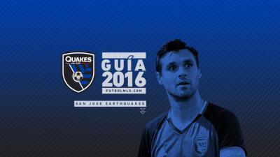 SJ Earthquakes Guia 2016
