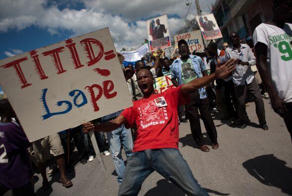 """""""Debemos lograr el regreso del doctor presidente Aristide como un ciudad..."""