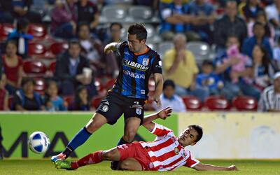 Querétaro y Necaxa se enfrentarán en el Estadio La Corregi...