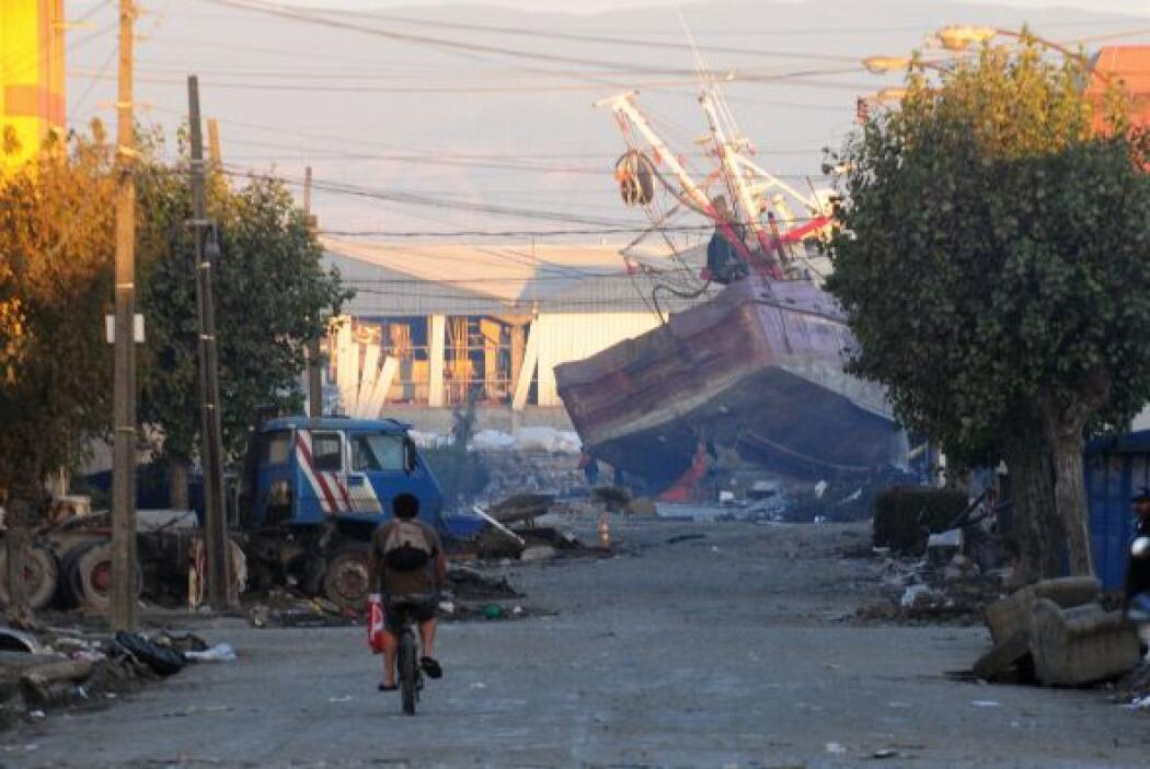 27 de febrero de 2010. Un terremoto de 8 grados en la escala de Richter...