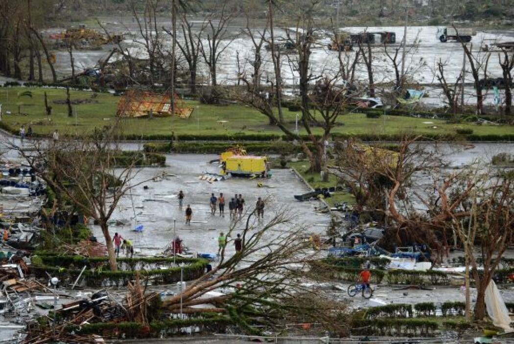 """La destrucción, según las autoridades del país, es """"inimaginable""""."""