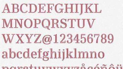Esta tipografía gratuita podría ahorrar millones de dólares a sus usuarios.