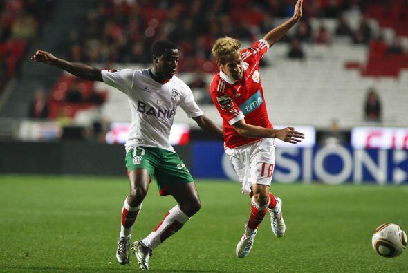 Coentrao, figura del Benfica, fue el héroe de las Aguilas ante el...