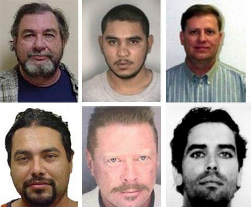 Según registros oficiales del FBI, en México se encuentran refugiados va...