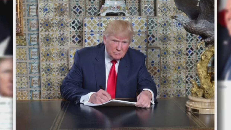 Trump escribió él mismo su discurso para la toma de posesión, según su e...
