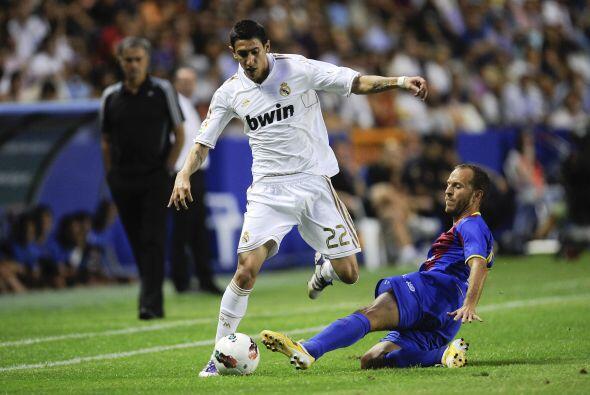 El Real Madrid volvió a ver actividad en la Liga española, ahora en casa...
