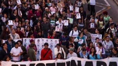 Miles de mexicanos se ha volcado a las calles para protestar contra el g...