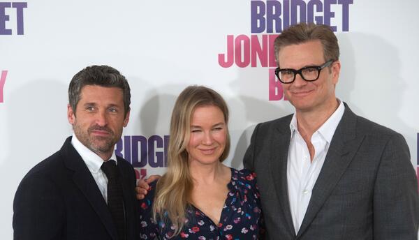 La soltera Bridget Jones regresa a la pantalla embarazada y con dos galanes