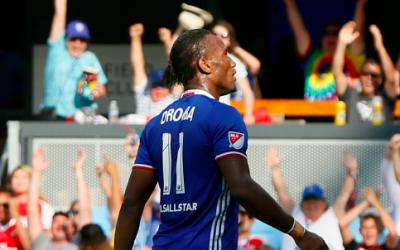 Didier Drogba jugando para el Equipo de las Estrellas de la MLS
