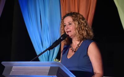 Sara Rosario, presidenta del Comité Olímpico de Puerto Ric...