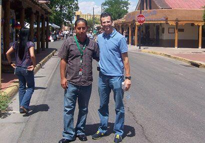 Nuestro Félix Fernández, de República, estuvo de visita en Albuquerque.