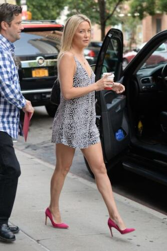 La actriz está disfrutando del verano en Nueva York.