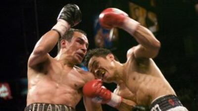 Juan Manuel Márquez y Manny Pacquiao tuvieron dos peleas muy parejas.