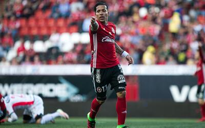 Dayro Moreno quiere salir campeón goleador con Tijuana.