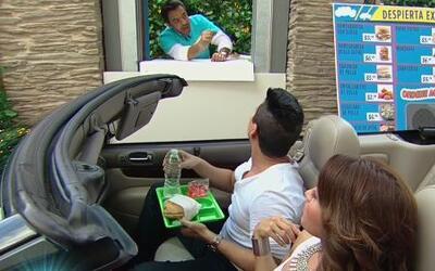 Alejandro Chabán invitó a comer a Alessandra Rosaldo a un 'fast food'