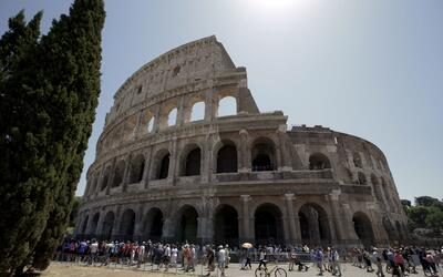 El Coliseo tras el primer paso de su restauración, el viernes 1 d...