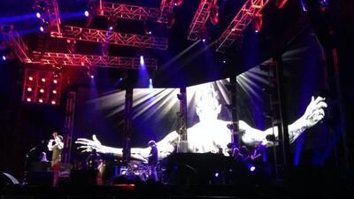 Draco se presentó en concierto los días seis y siete de diciembre en el...