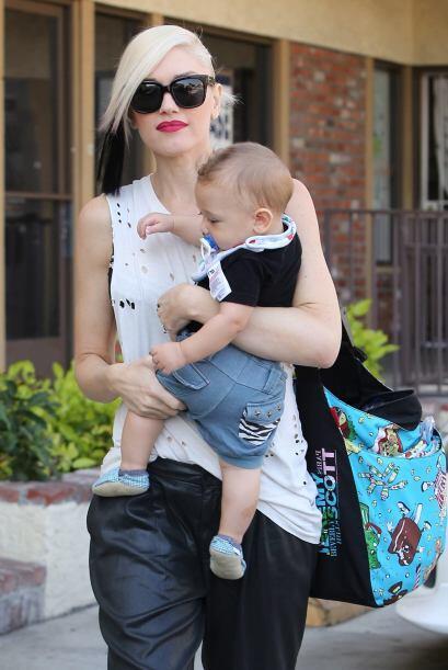 Pues Gwen así lo ha hecho con su otro pequeño, el querido...