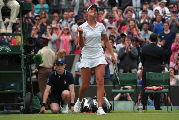 Robson fue la verdugo de una de las favoritas del torneo.