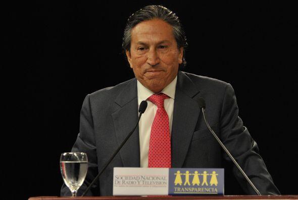 Alejandro Toledo fue el candidato que más atacó a Humala y Fujimori.