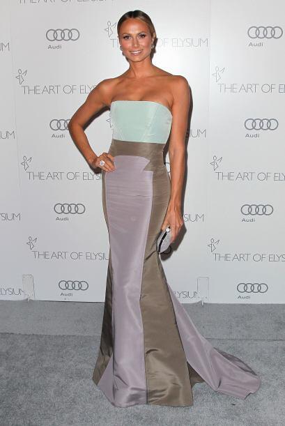 Otro de los secretos que oculta este magnífico vestido es la ilus...
