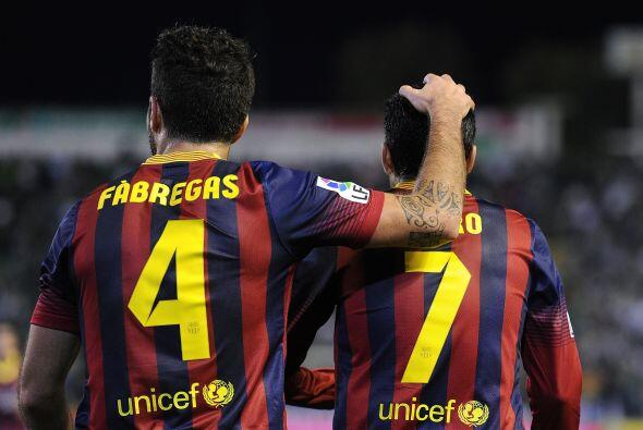 El catalán no perdonó para colocar el 3-0.