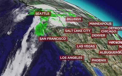 Se acercan las lluvias a Sacramento