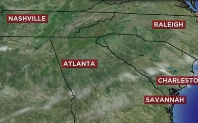 En Atlanta se necesitan lluvias
