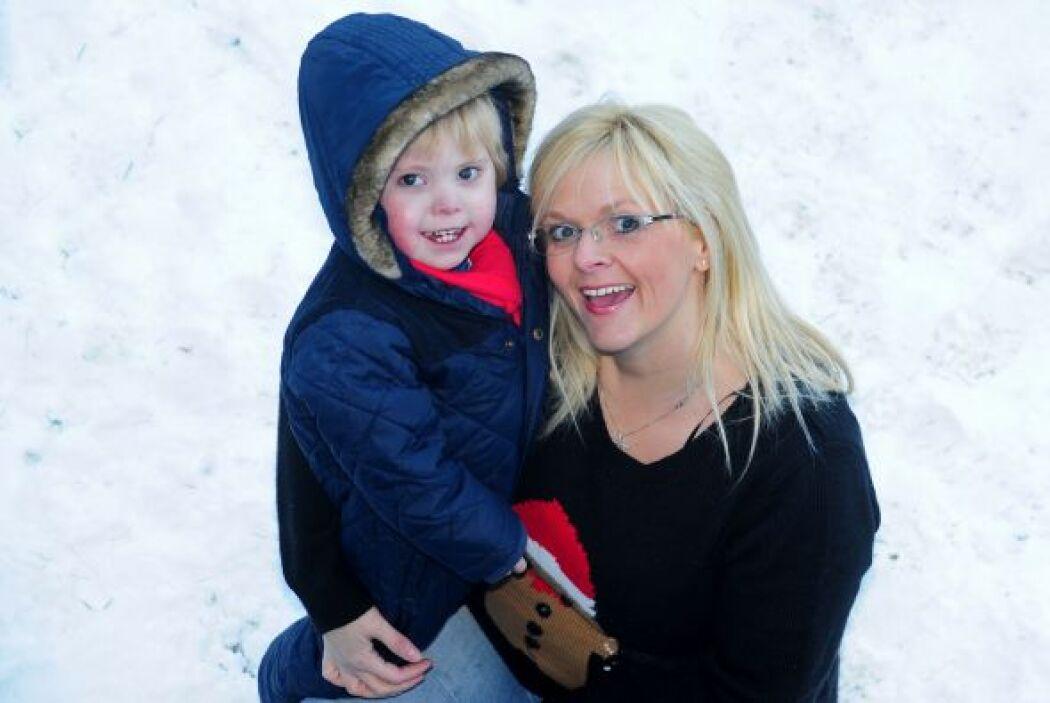 Este es el caso de Mason Williams, un niño 3 años e edad de Rowley Regis...